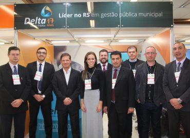 Delta recebeu clientes no 37º Congresso de Municípios da Famurs