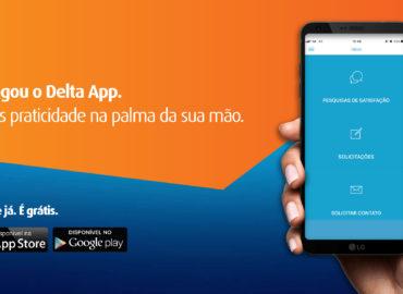 Delta lança aplicativo para facilitar o relacionamento com os clientes