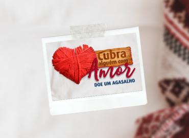 """Campanha """"Cubra alguém com amor"""" aqueceu corações"""