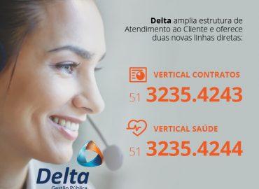 Delta tem duas novas verticais para atendimento ao cliente