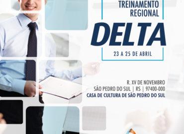 Delta realizará treinamento na cidade de São Pedro do Sul