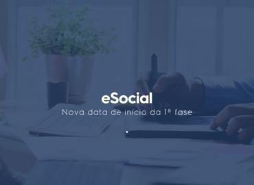 Importante: Mudança da primeira fase do eSocial