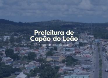 Rápido, seguro e eficiente: Capão do Leão conta com Pix na arrecadação!